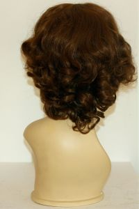 available for rent: curly brow wig in kanekalon, look from the 30s