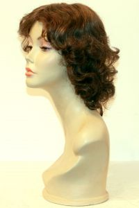 available for rent: Pierre Balmain curly chestnut brow wig, look from the 30s, wavy hair