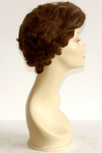 available for rent: short Pierre Balmain single knot human hair light brown wig